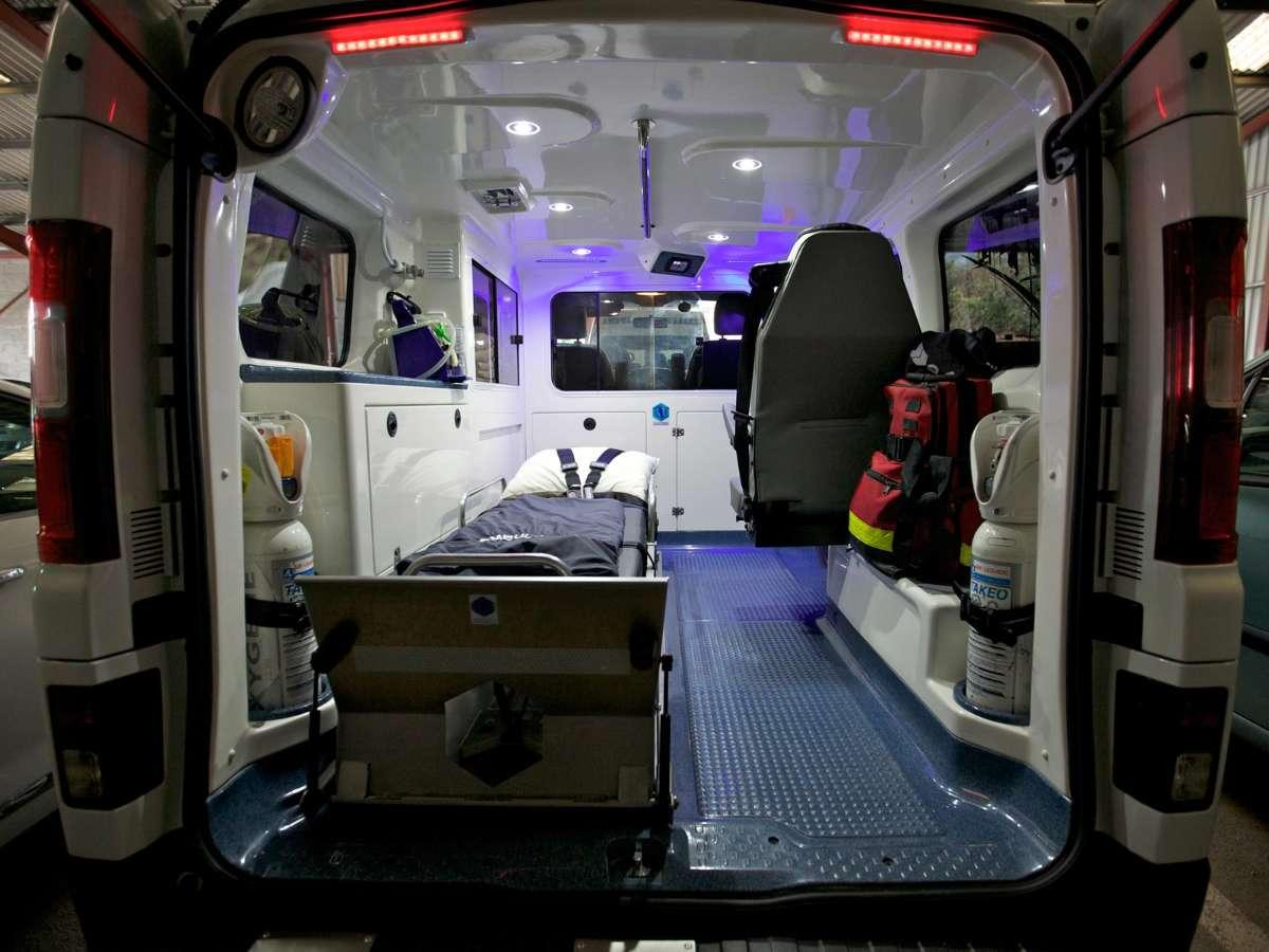 interieur ambulance